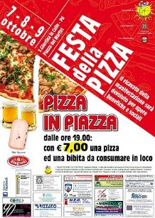 Image Pizza in piazza